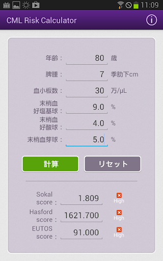 【免費醫療App】CML Risk Calculator-APP點子