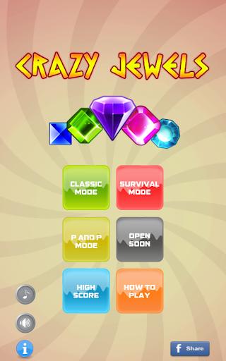 【免費解謎App】Crazy Jewels-APP點子