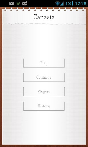 Canasta Score Keeper