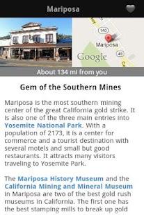California's Gold Country Trav- screenshot thumbnail