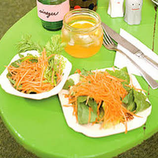 Romaine and Carrot Salad.