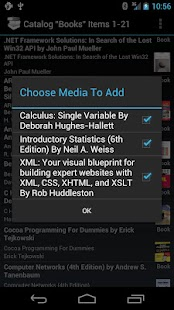 My Media Catalog- screenshot thumbnail