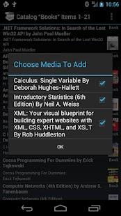 My Media Catalog- screenshot thumbnail