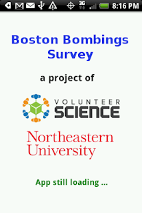 Boston Bombings Survey - screenshot thumbnail