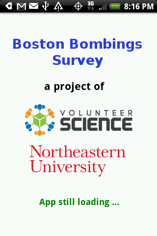 Boston Bombings Survey- screenshot