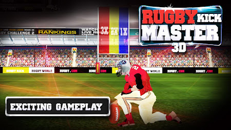 RUGBY KICK MASTER 3D 1.5 screenshot 39956