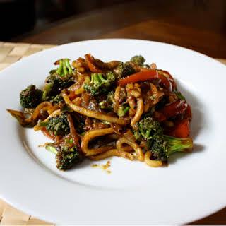 Curried Udon Noodle Stir-Fry.