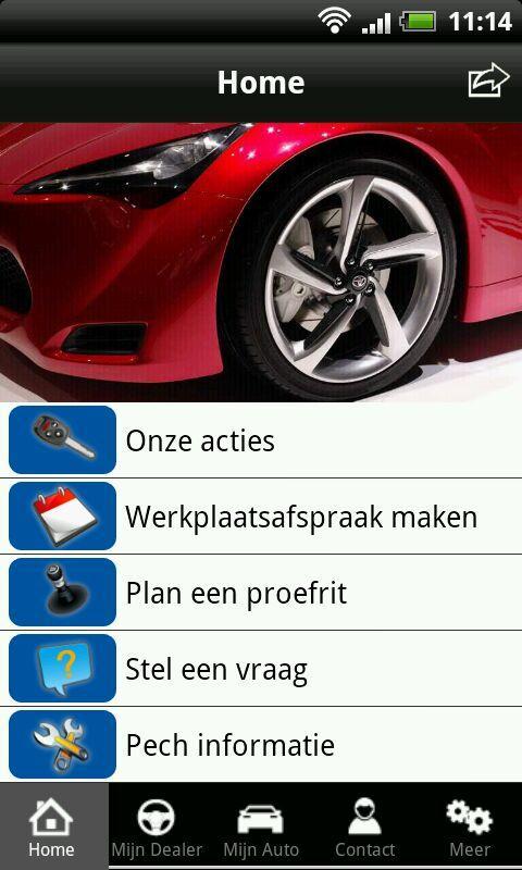 Mijn Dealer- screenshot