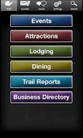 Screenshot of Langlade County Tourism