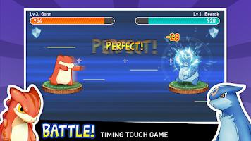 Screenshot of Tap Tap Monsters pocket dragon