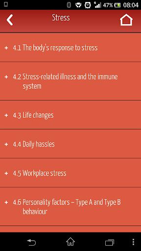 Stress AQA A AS Psychology