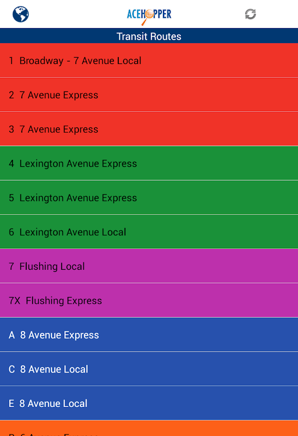 Acehopper: Fun & Transit App - screenshot