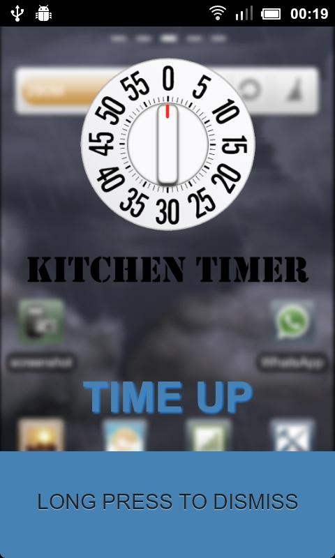 Kitchen Timer Full - screenshot