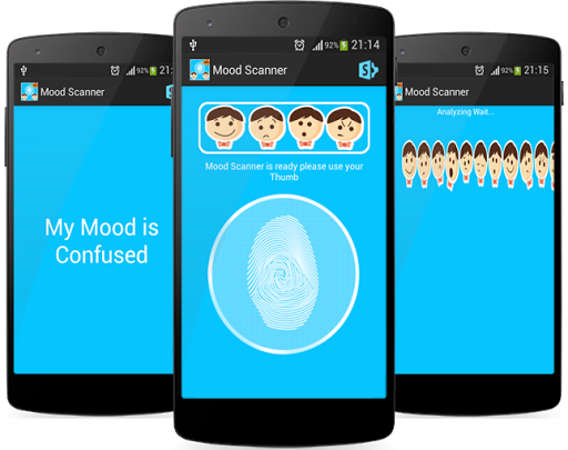 Finger Mood Scanner App Prank