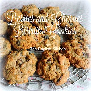 Berries and Cherries Biscuits/ Cookies.