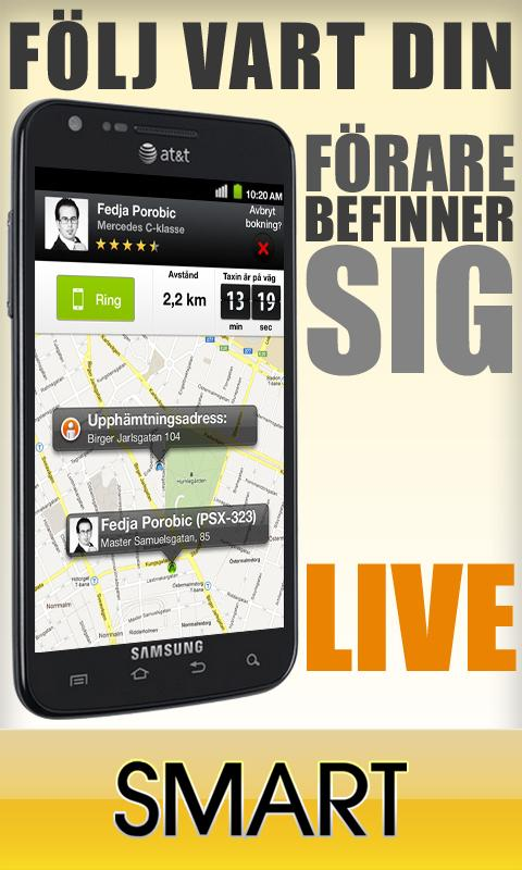 Taxi Smart - Stockholm - screenshot