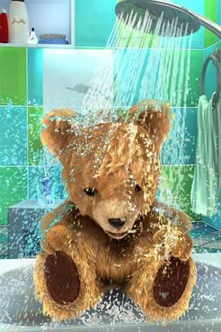 玩免費娛樂APP|下載泰迪亚当洗澡 app不用錢|硬是要APP
