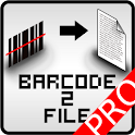 barcode2file Pro logo
