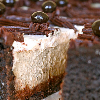 Cappuccino Fudge Cheesecake