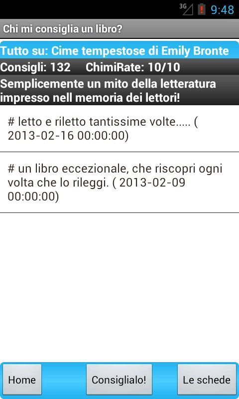 Chi mi consiglia un libro? - screenshot