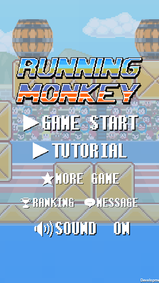 RunningMonkey- screenshot