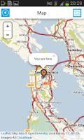 Screenshot of California Offline Road Map