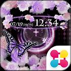 蝶と薔薇の壁紙きせかえ Butterfly & Rose icon
