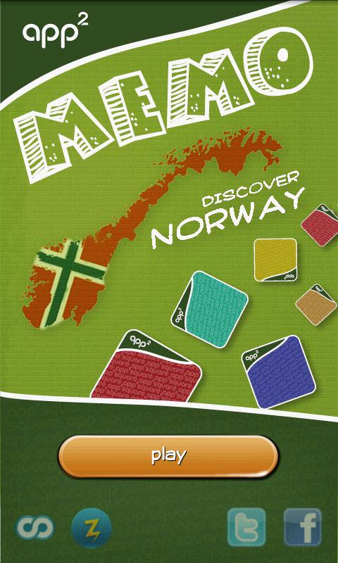 app²memo triplet - Norway - screenshot