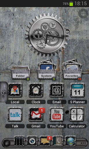 TSF Shell HD Theme Industrial