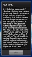 Screenshot of Tarot of the Angels lite