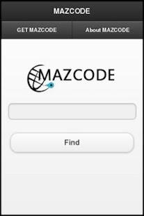 MAZCODE- screenshot thumbnail