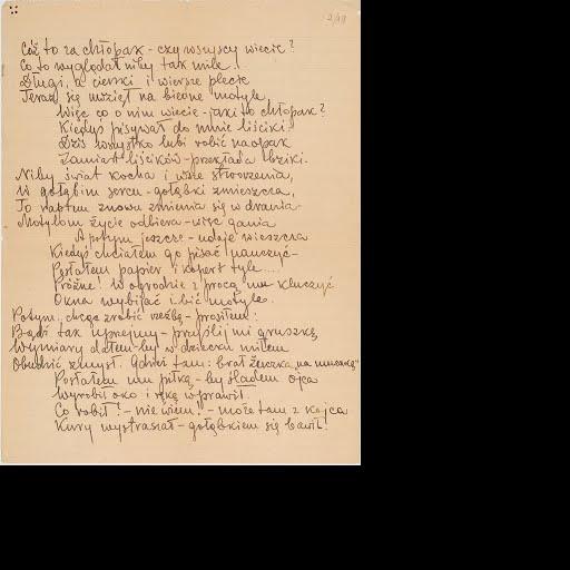 Wierszowany List Witolda Pileckiego Do Syna Andrzeja