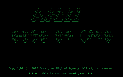 ASCII Game of Life- screenshot thumbnail