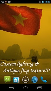 3D Vietnam Flag LWP - screenshot thumbnail