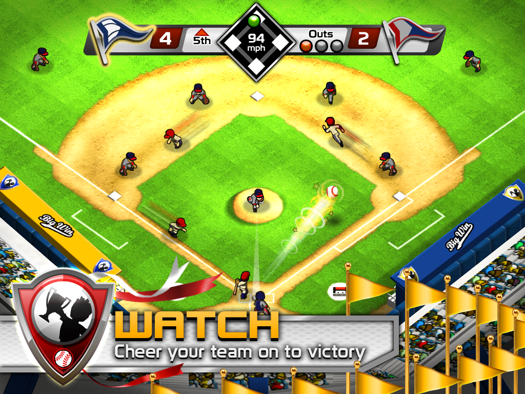 BIG WIN Baseball - screenshot