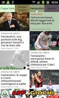Screenshot of News calcio e calciomercato
