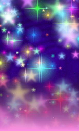 Glitter Stars Live Wallpaper