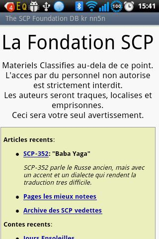The SCP Foundation DB fr nn5n