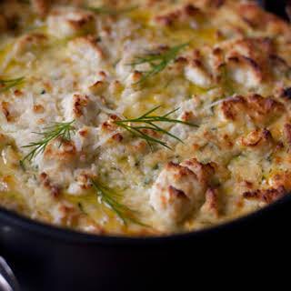 Zucchini Ricotta Cheesecake.