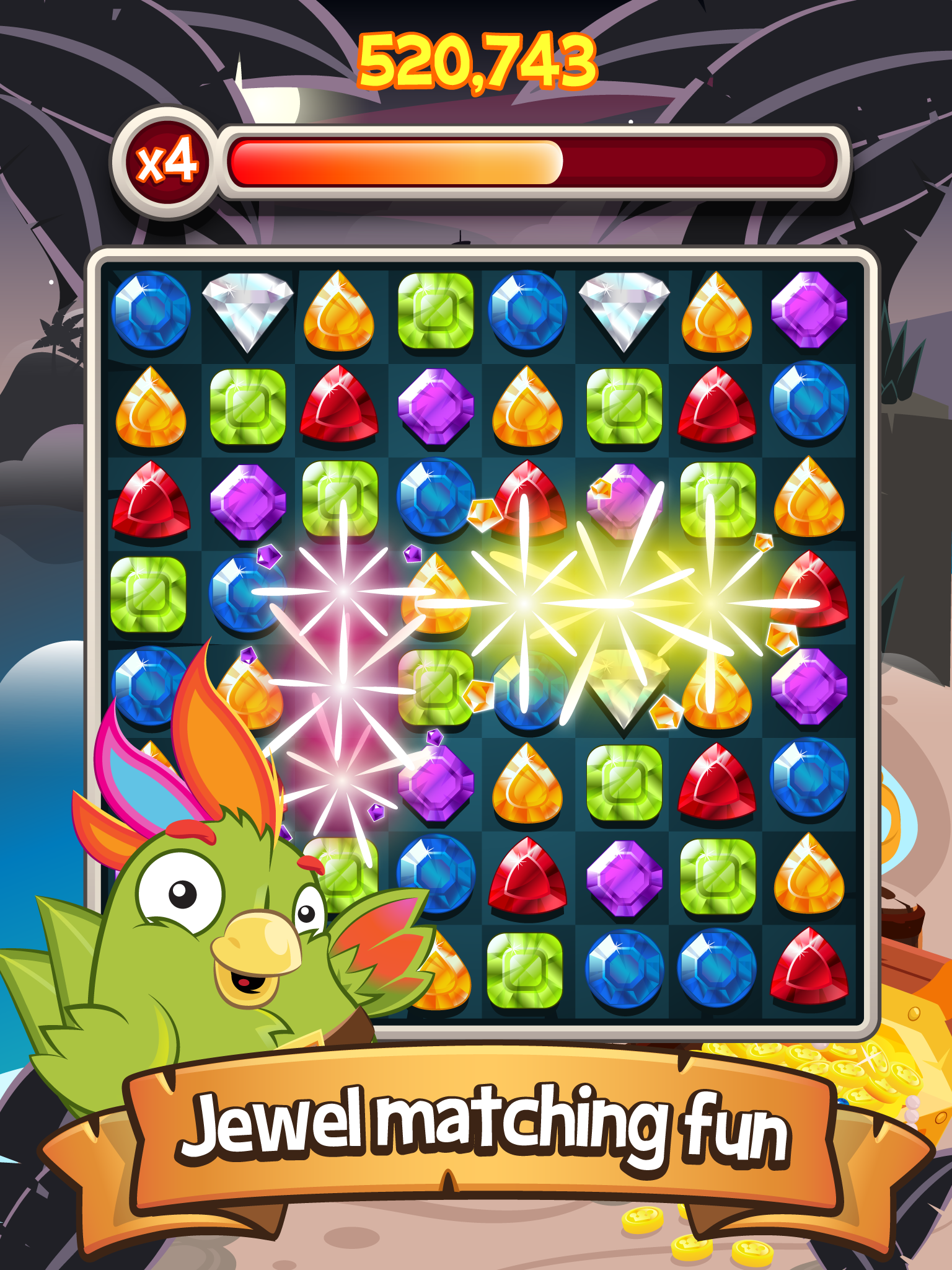 Booty Quest – Match 3 Jewels! screenshot #6