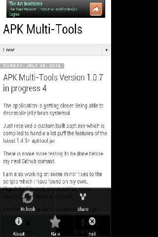 APK Multi-Tools Mobile Blog - screenshot