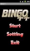 Screenshot of BINGO++