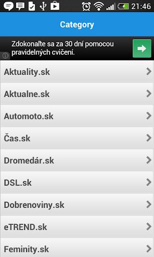 Slovak news reader