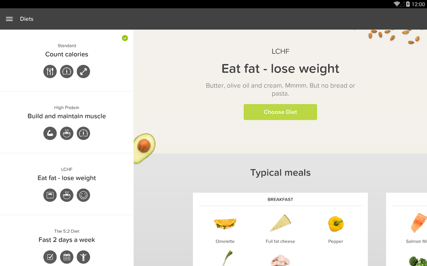 Lifesum – Calorie Counter - screenshot