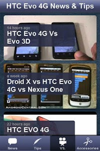 HTC Evo 4G News & Tips screenshot 2