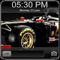 Lotus Car Go Locker Theme for Lollipop - Android 5.0