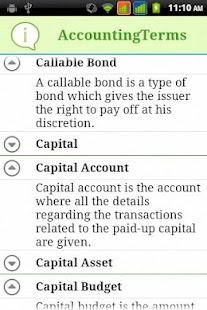 Accounting Terms - screenshot thumbnail