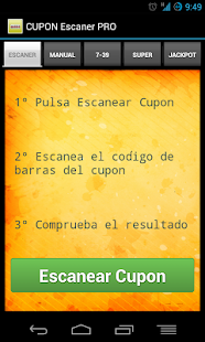 Cupon Escaner ONCE - PRO- screenshot thumbnail