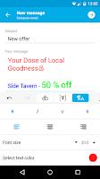 Screenshot of GetResponse