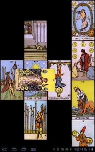 TarotBot Android tarot reader - screenshot thumbnail